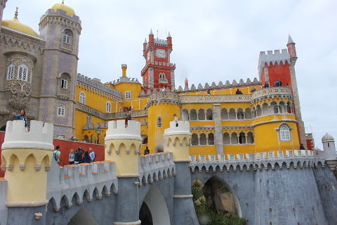 Sintra Portugal Home To The Pena Palace And A Moorish Castle