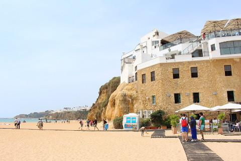 Pescadores beach in Albufeira