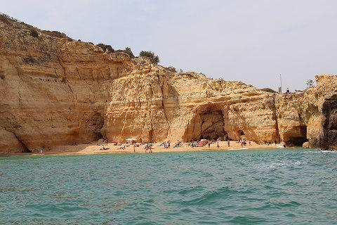 Benagil beach on the Algarve