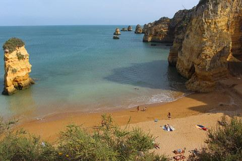 Dona Ana beach near Lagos on the Algarve