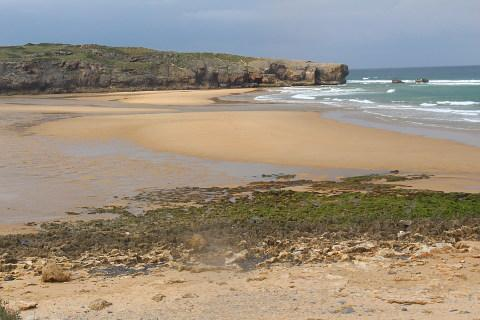 Praia da Amoreira near Aljezur on the western Algarve coast