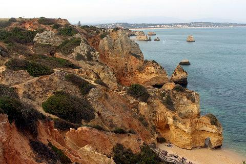 Camilo beach next to Lagos on the Algarve